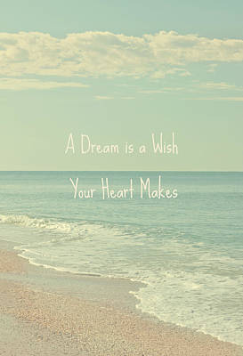 Dreams And Wishes Poster by Kim Hojnacki