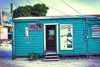 Drinking Is Fun You Should Try It Caye Caulker Belize Poster by Lee Vanderwalker