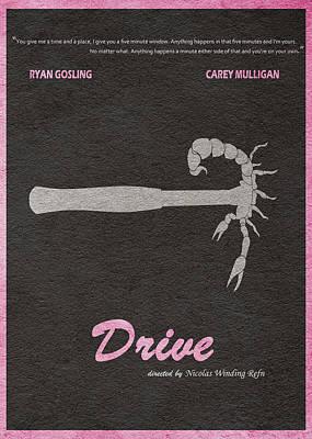 Drive Poster by Ayse Deniz