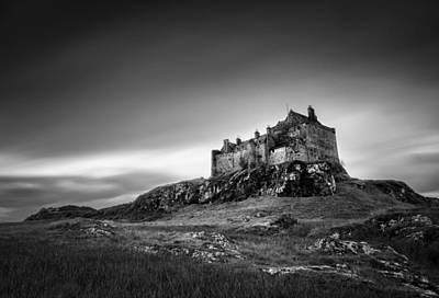 Duart Castle Poster by Dave Bowman