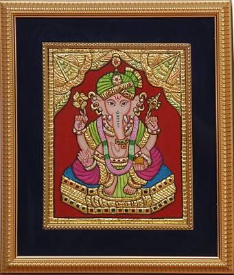 Dulha  Vinayak Poster by Vimala Jajoo