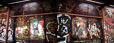 Dumbo Graffiti Poster by Natasha Marco