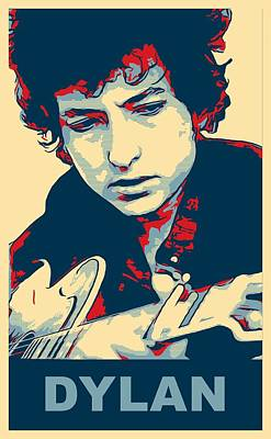 Dylan Poster by Dan Sproul