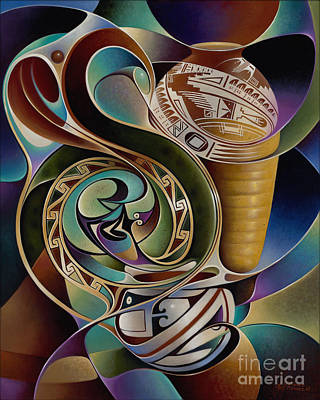 Dynamic Still I Poster by Ricardo Chavez-Mendez
