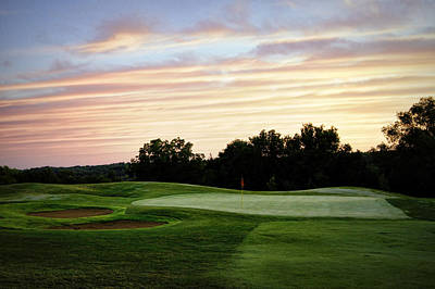 Eagle Knoll Golf Club - Hole Ten Poster by Cricket Hackmann