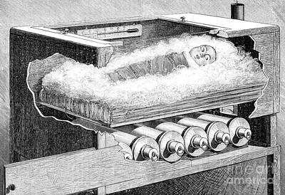 Early Baby Incubator, 19th Century Poster by Spl