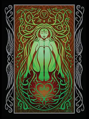 Earth Spirit V.2 Poster by Cristina McAllister