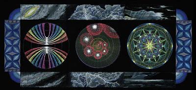 Earth's Beginnings Poster by Keiko Katsuta