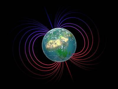 Earth's Magnetosphere Poster by Andrzej Wojcicki