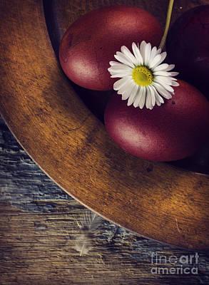 Easter Eggs Poster by Jelena Jovanovic