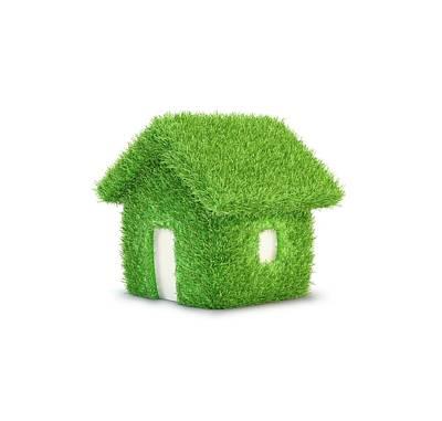 Eco Home Poster by Andrzej Wojcicki