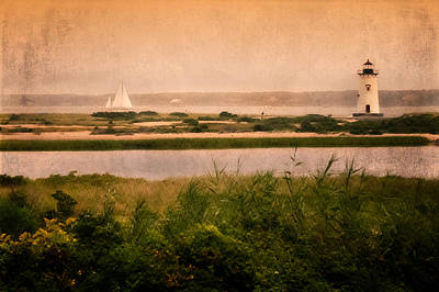 Edgartown Lighthouse Poster by Bill Wakeley