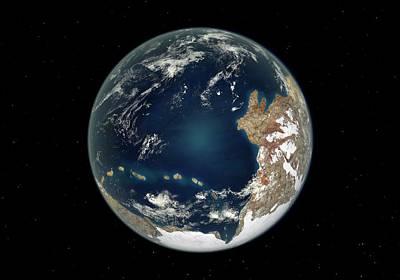 Ediacaran Earth Poster by Walter Myers