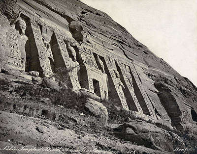 Egypt Abu Simbel Temple Poster by Granger