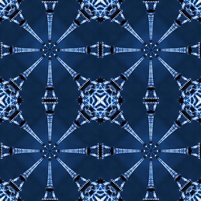 Eiffel Art 18 Poster by Mike McGlothlen
