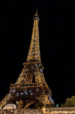 Eiffel Tower 4 Poster by Mauro Celotti