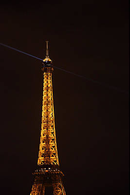Eiffel Tower - Paris France - 011331 Poster by DC Photographer