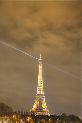 Eiffel Tower - Paris France - 011345 Poster by DC Photographer