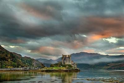 Eilean Donan Castle Poster by Simon Booth