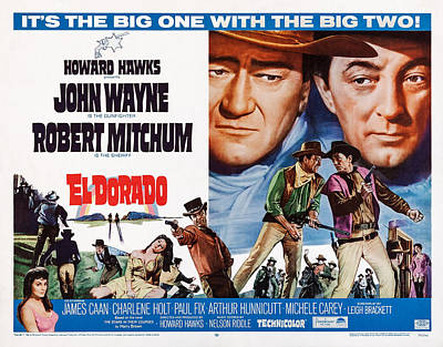 El Dorado, Top And Center L-r John Poster by Everett