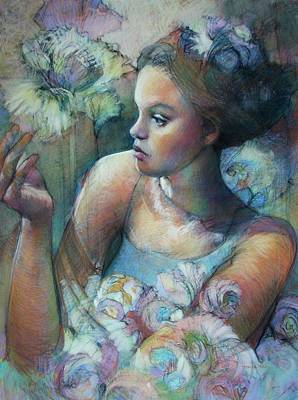 Elah's Ballet Poster by Tonja  Sell