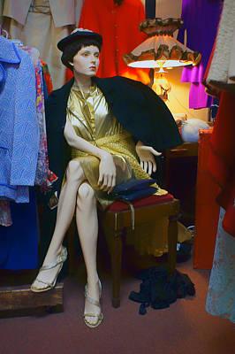 Elegance - Retro Mannequin Poster by Nikolyn McDonald