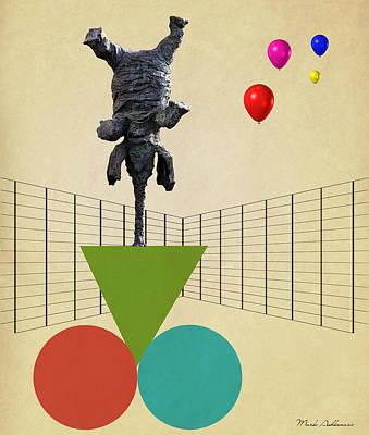 Elephant 3 Poster by Mark Ashkenazi