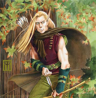 Elf Hunter Poster by Melissa A Benson