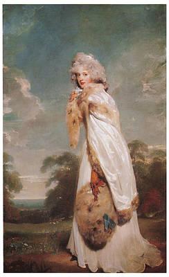 Elizabeth Farren Poster by Sir Thomas Lawrence