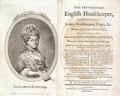 Elizabeth Raffald Poster by British Library