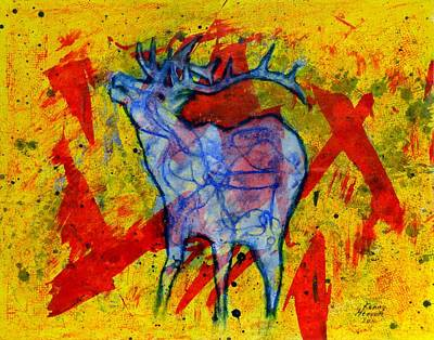 Elk Poster by Kenny Henson