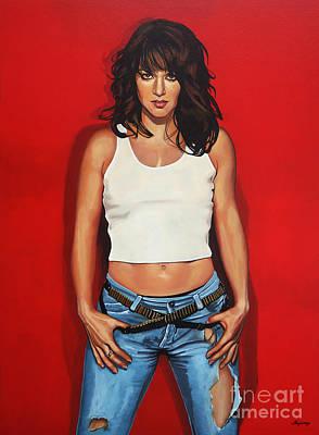 Ellen Ten Damme Painting Poster by Paul Meijering