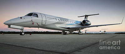 Embraer Legacy 650 Executive Jet Poster by Dustin K Ryan