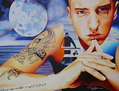 Emminem Poster by Joshua Morton
