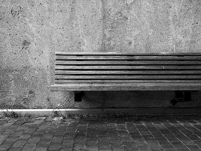 Empty Bench Poster by Kyle Wasielewski