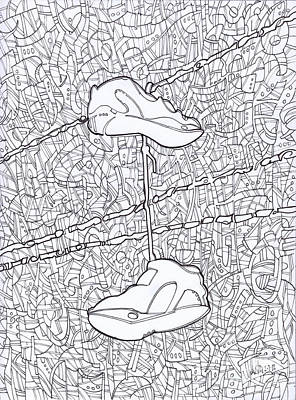 Empty Soles Poster by Michael Ciccotello