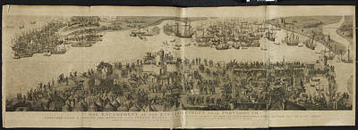 Encampment Of English Forces Poster by British Library