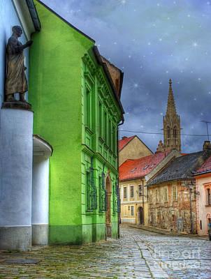 Enchanted. Bratislava Poster by Juli Scalzi
