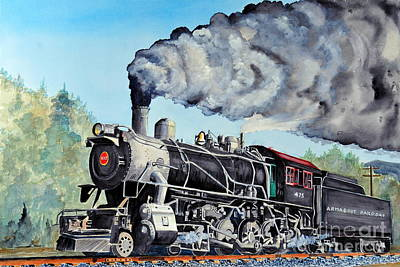 Engine 475 Poster by John W Walker