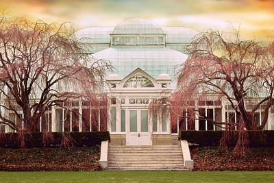 Enid A. Haupt Conservatory Poster by Jessica Jenney