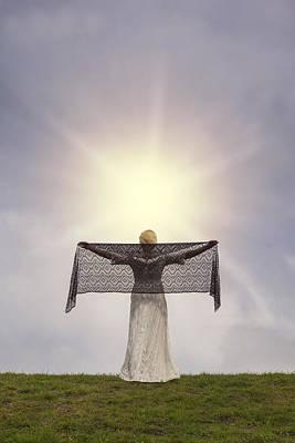 Enjoying The Sun Poster by Joana Kruse