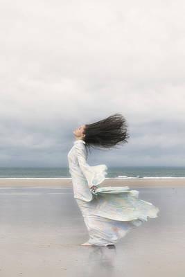 Enjoying The Wind Poster by Joana Kruse