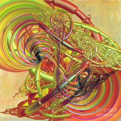 Entanglement Of Life Poster by Deborah Benoit