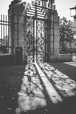 Entrance To Eternity   Poster by Aldona Pivoriene