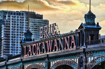 Erie Lackawanna Station Hoboken Poster by Paul Ward