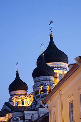 Estonia, Tallin, Old Town Alexander Poster by Tips Images