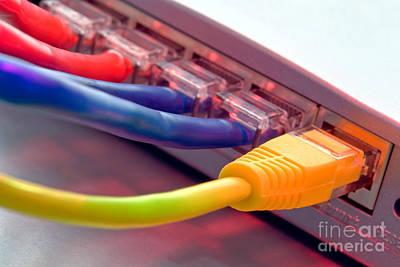 Ethernet Poster by Olivier Le Queinec