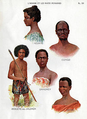 Ethnic Groups Poster by Cci Archives