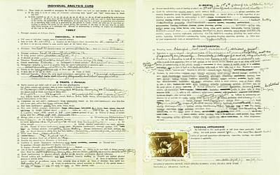 Eugenics Data Collection Poster by American Philosophical Society