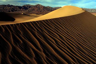 Eureka Sand Dunes Poster by Kenan Sipilovic